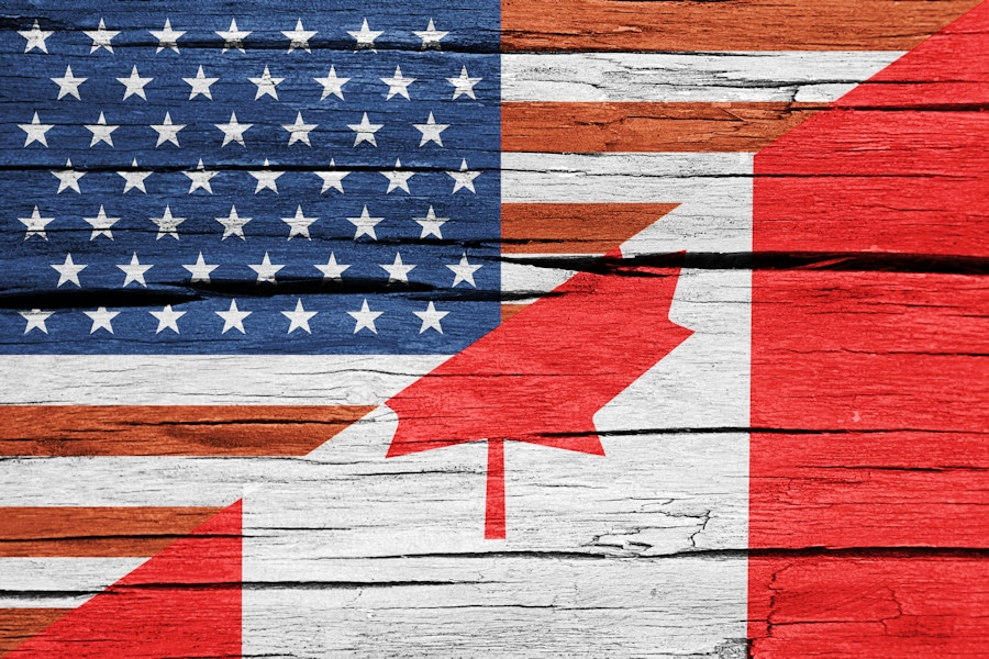 US/Canada Flags